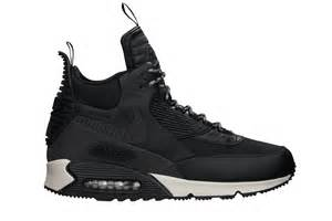 nike black friday shoes nike air max 90 sneakerboots in black for men lyst
