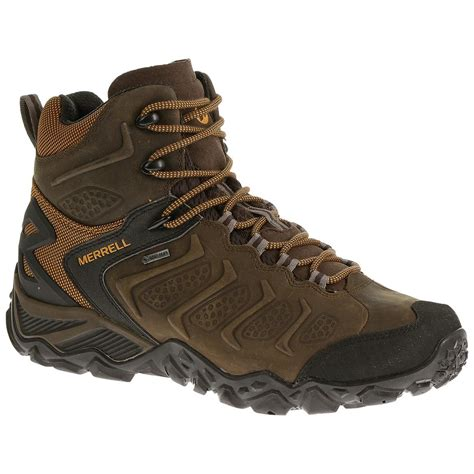 merrell hiking boots merrell chameleon shift waterproof mid hiking boots