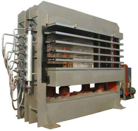 hydraulic wood door lamination and veneer press