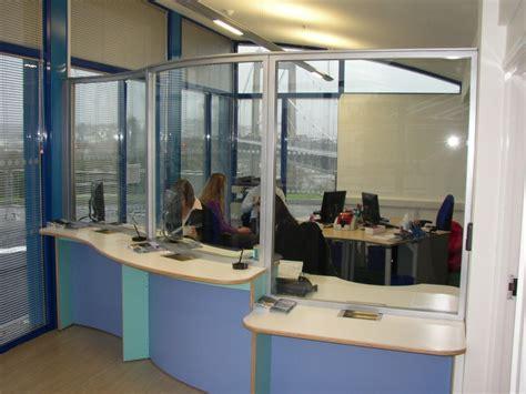reception desk security screens secure counters screens reception counters