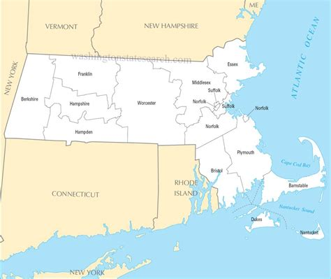 mass map map of massachusetts massachusetts maps mapsof net