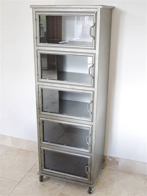industrial style display cabinet industrial cabinet style floor standing cabinet 163 340