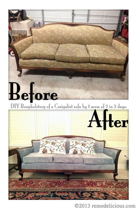 how to reupholster an antique sofa pin by melanie brown on diy home pinterest