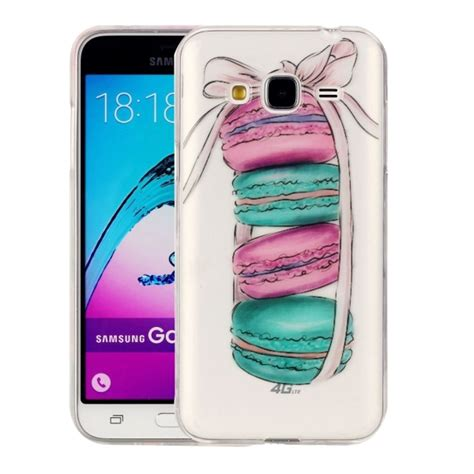 Soft Anti Samsung J3 J3 2016 J310 Bahan Soft Jelly for samsung galaxy j3 2016 j310 macarons pattern imd workmanship soft tpu protective