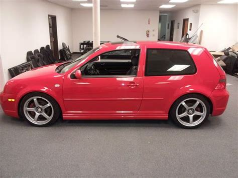 purchase used 2000 volkswagen golf gti glx hatchback 2 door 2 8l vr6 turbo 345 hp in wareham