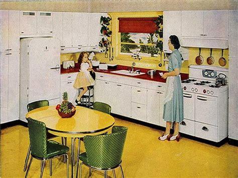 1950 kitchen design cartoon 1950s kitchen