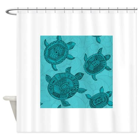 turtle shower curtains bath accessory sets tropical sea turtles shower curtain by yourperfecthome