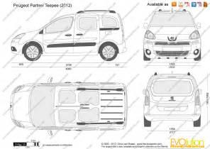 Peugeot Dimensions Peugeot Partner Dimensions
