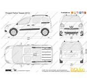 The Blueprintscom  Vector Drawing Peugeot Partner Teepee