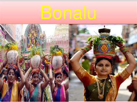 bonalu south indian festival