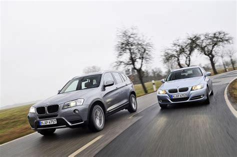 Bmw X1 3er Touring Vergleich by Vergleich Der Neue Bmw X3 Trifft Auf X1 3er Touring Und