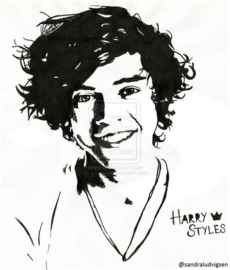 harry styles one direction by ludvigsen on deviantart