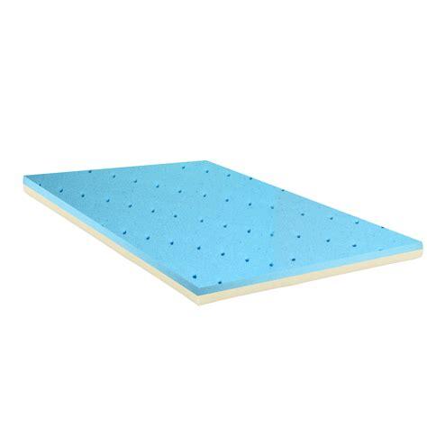 High Density Foam Mattress Topper by Spinal Solution Gel Infused High Density Foam Mattress