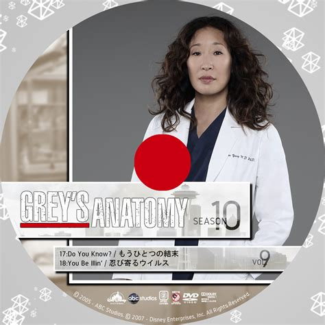 Grey Disc 10 grey s anatomy グレイズ アナトミー 恋の解剖学 シーズン10 後半 snowの海外