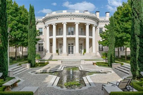 mansions in dallas a mansion in dallas that looks like the white house gets a