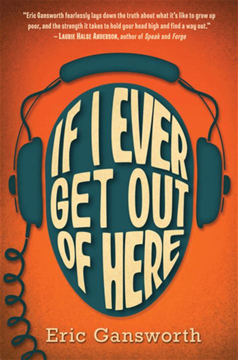 getting books if i get out of here by eric gansworth reviews