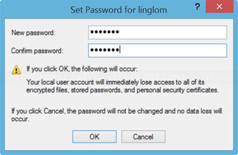 windows reset password offline reset administrator password on windows 8 linglom com