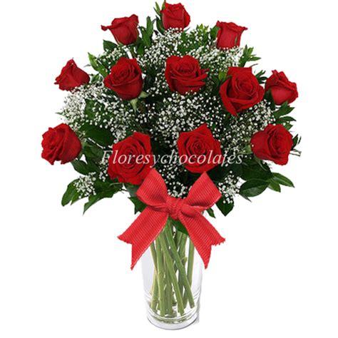 floreros santiago florero de rosas rojas flores y chocolates