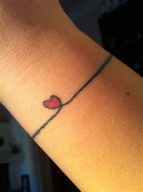 love heart tattoo designs wrist images designs