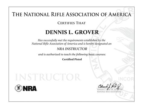 nra certificate template 21 images of nra certificate template fillable gieday