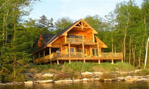 lakefront cabin plans elevated house plans waterfront waterfront homes house