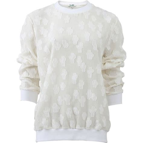 Sweater Cotton O Neck Pria 1 white cotton pullover sweater baggage clothing
