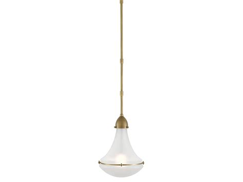 profile pendant in antique brass design by currey