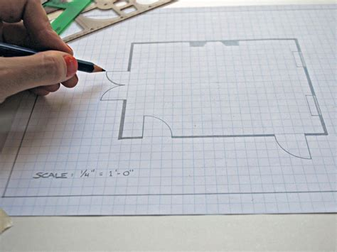 draw a room to scale how to create a floor plan and furniture layout hgtv