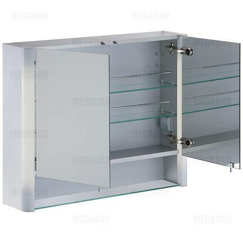 spiegelschrank duravit duravit multibox new spiegelschrank 80 cm lm970103737