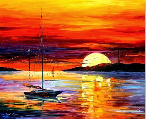 cuadros modernos pinturas y dibujos cuadros de paisajes - Cuadros De Marinas Pintadas Al Oleo