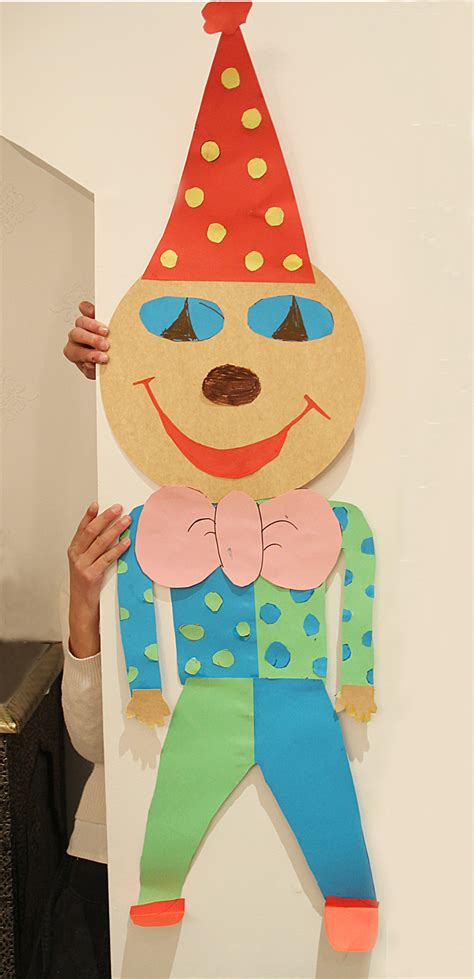clown crafts for preschool clown craft preschool ideas
