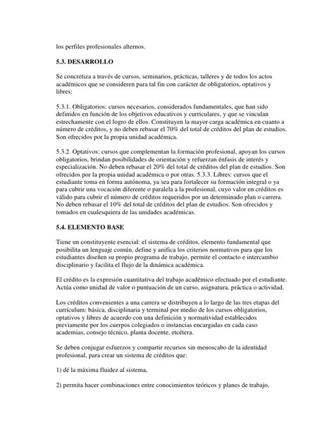 Modelo Curricular Semiflexible Propuesta Para Un Modelo Curricular