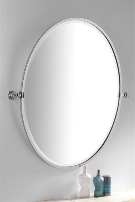 tilting bathroom mirror classic bathroom tilting mirror oval available in several