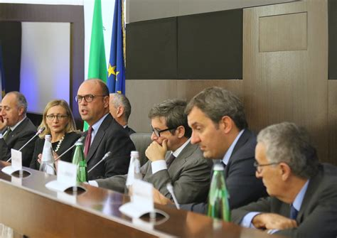 presidenza consiglio dei ministri roma alfano al convegno antiterrorismo evoluzione normativa e