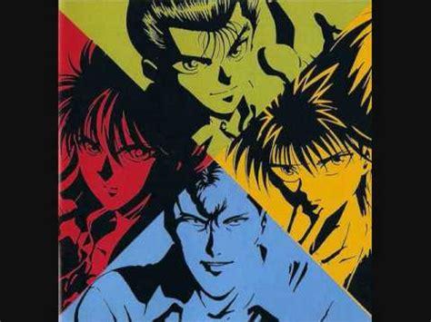 theme song yu yu hakusho best music of all time anime tatakai no hate doovi