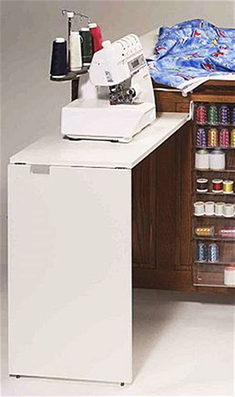 fashion sewing cabinets of america 49 add on serger table