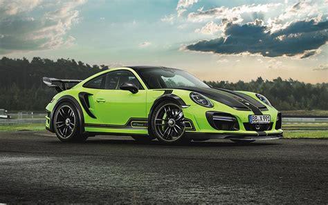 Tech Art Porsche by Techart Reveals Intense New Gtstreet R Porsche 911 Turbo