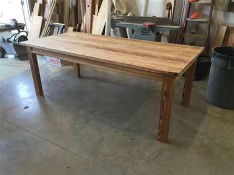 made pine dining table by saw funiture