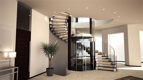 Helical Stairs Design Cgarchitect Professional 3d Architectural Visualization User Community Stair Arround