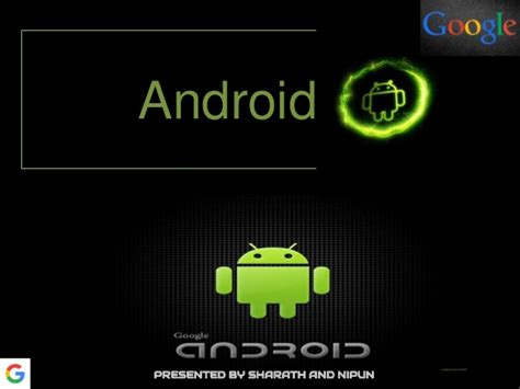 why android ppt why android is the