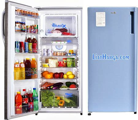 Kulkas Yang Termurah daftar harga kulkas lg lemari es 1 2 pintu termurah 2018