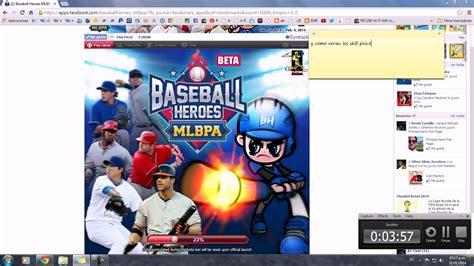tutorial hack baseball heroes baseball heroes mlbpa hack skill point full permanente