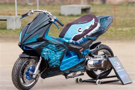 Jetforce Lackieren by Jet Umbau Motorrad News