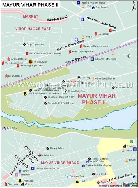 Mayur Vihar Phase2 Map