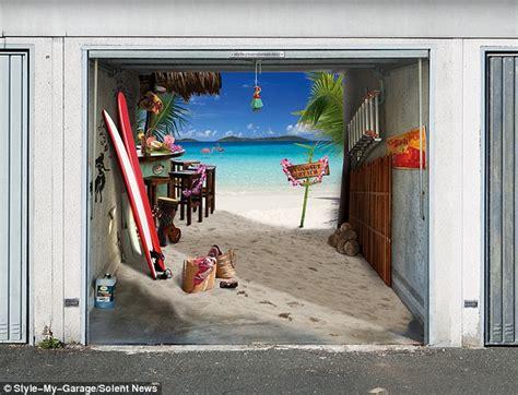 2011 spooky 3 d garage door covers by - Garagentor Bekleben