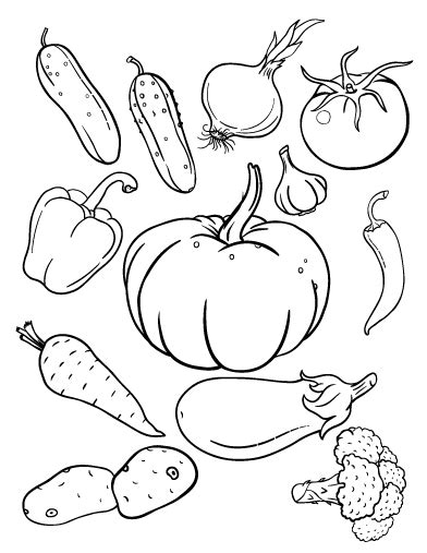 coloring pages fruits preschool printable vegetables coloring page free pdf download at