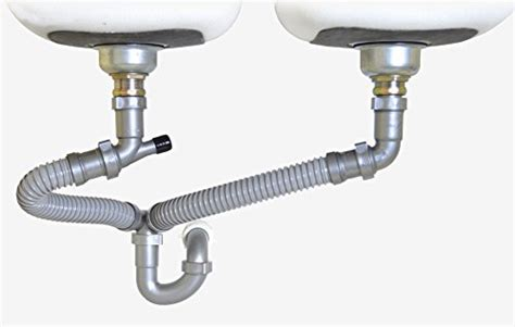 kitchen sink drains snappy trap 1 1 2 quot drain kit for kitchen sinks