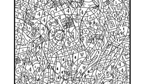 Complex Color By Number Coloring Pages Wonderful Coloring Complex Coloring Pages For