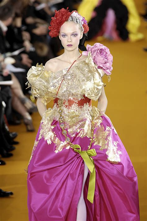 Runway Report Christian Lacroix Couture by Christian Lacroix 2008 Runway Pictures Livingly