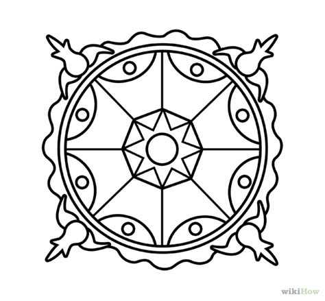 How To Draw A Template flower drawing templates clipart best